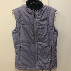 Kids insulated lavender Kathmandu zip puffer vest